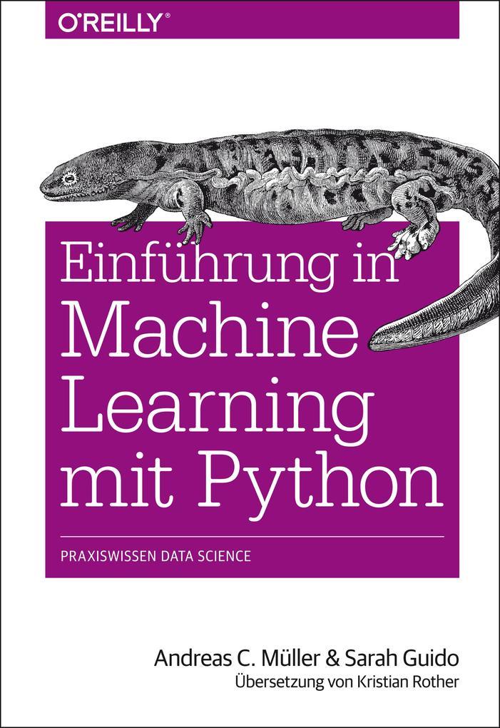 Einführung in Machine Learning mit Python als eBook