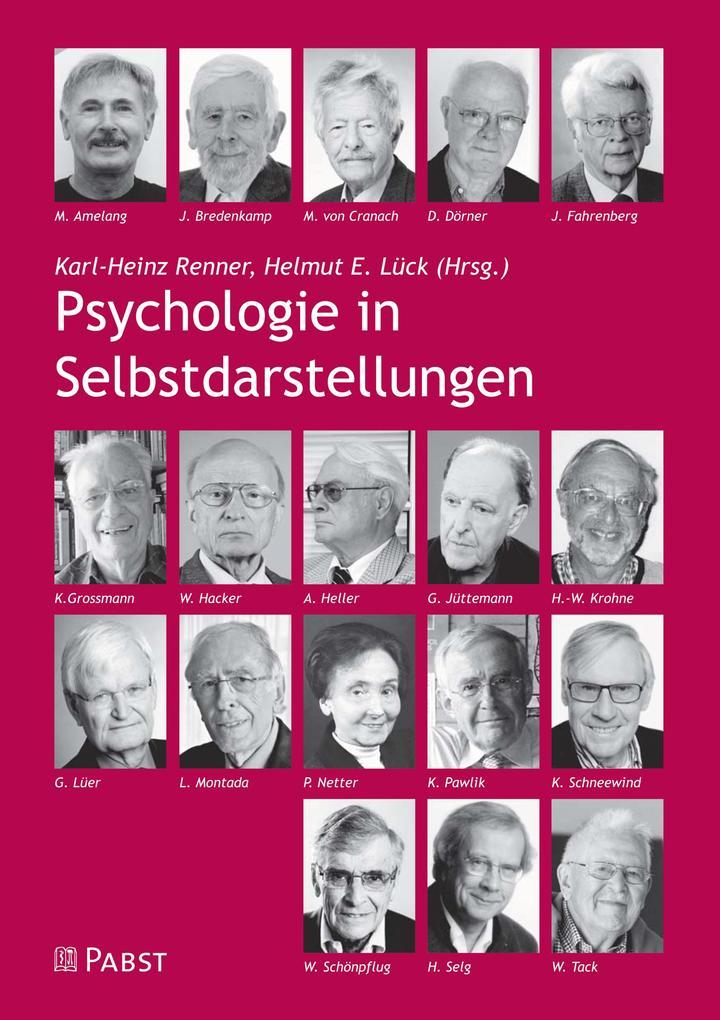 Psychologie in Selbstdarstellungen als eBook Do...