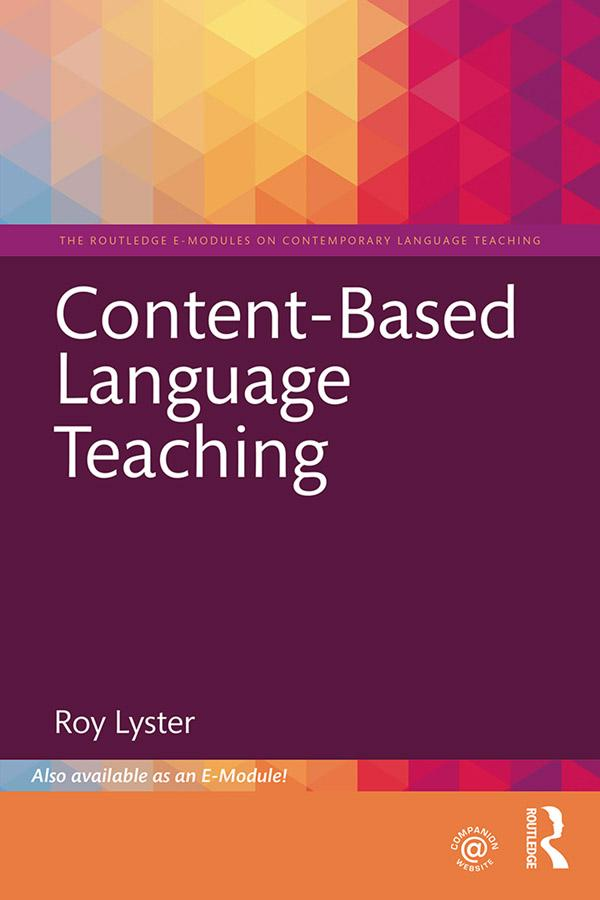 Content-Based Language Teaching als eBook Downl...