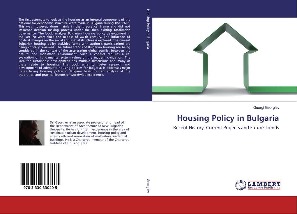 Housing Policy in Bulgaria als Buch von Georgi ...