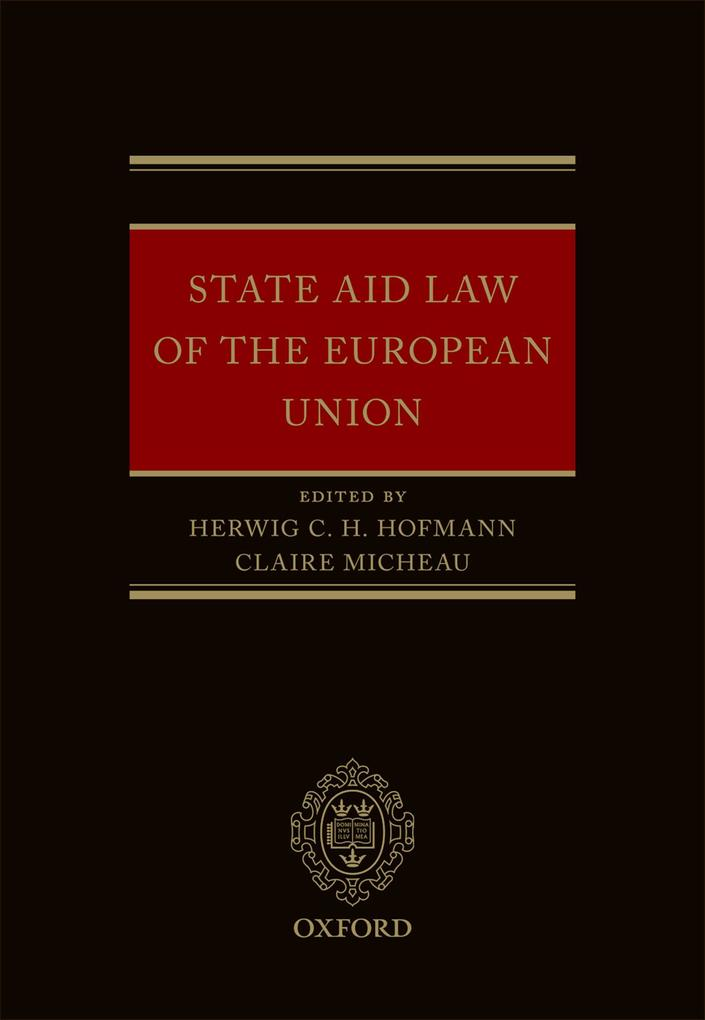 State Aid Law of the European Union als eBook D...