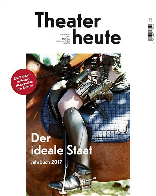 Theater heute, Jahrbuch 2017 als Buch von