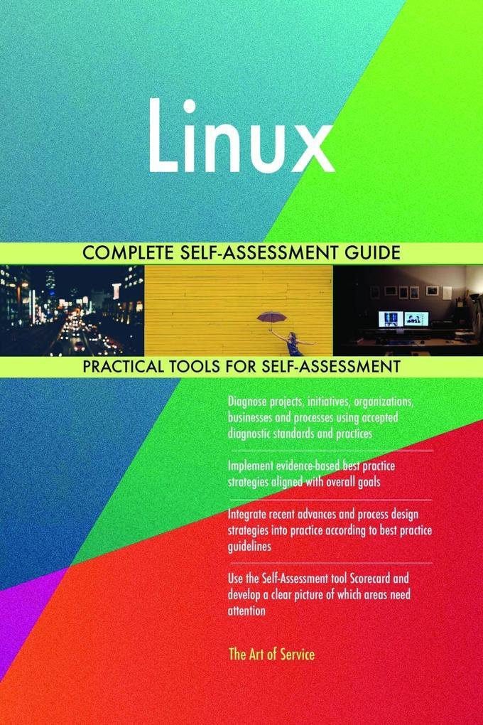 Linux Complete Self-Assessment Guide als eBook ...