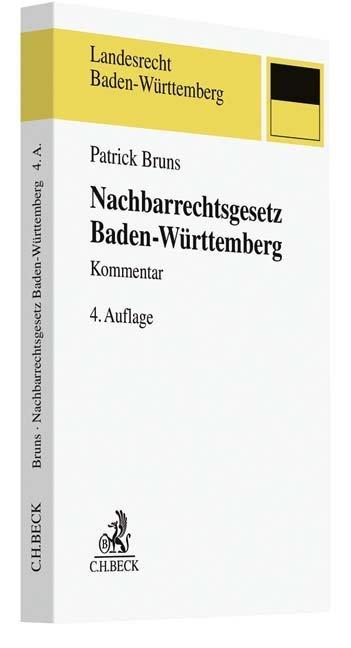 Nachbarrechtsgesetz Baden-Württemberg als Buch ...