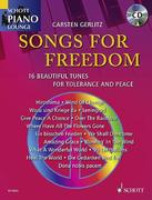 Songs For Freedom. Klavier. Ausgabe mit CD