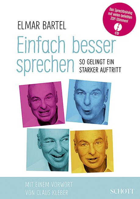 Einfach besser sprechen als Buch von Elmar Bartel