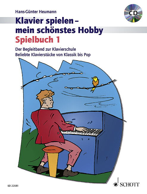Spielbuch 1. Klavier. Lehrbuch mit CD als Buch