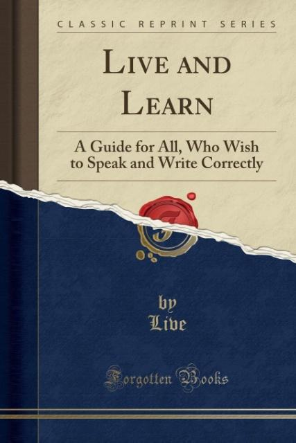 Live and Learn als Taschenbuch von Live Live