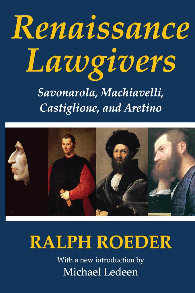 Renaissance Lawgivers als eBook Download von Ra...