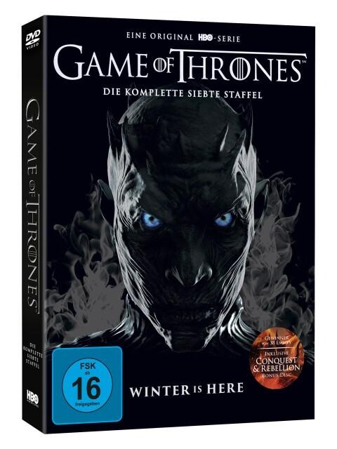 Game of Thrones - Die komplette 7. Staffel als DVD