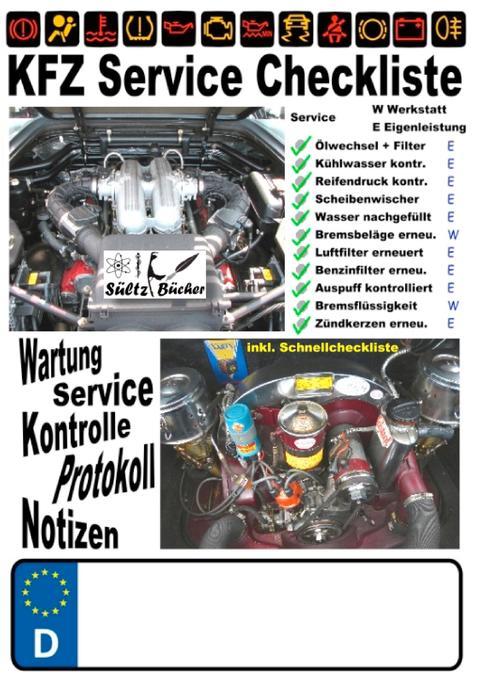 KFZ Service Checkliste - Wartung - Service - Ko...