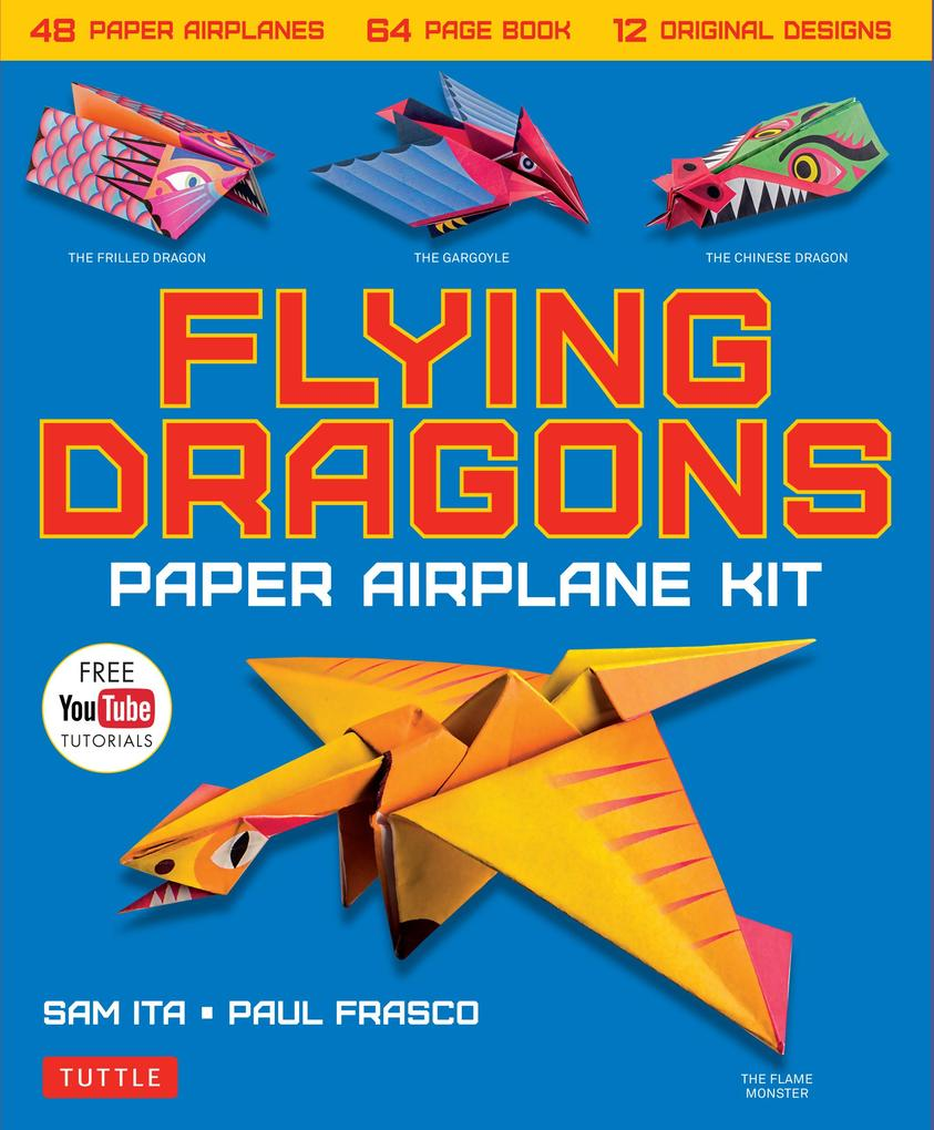 Flying Dragons Paper Airplane Ebook als eBook D...