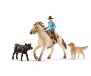 Schleich - World of Nature - Farm Life - Westernreiten