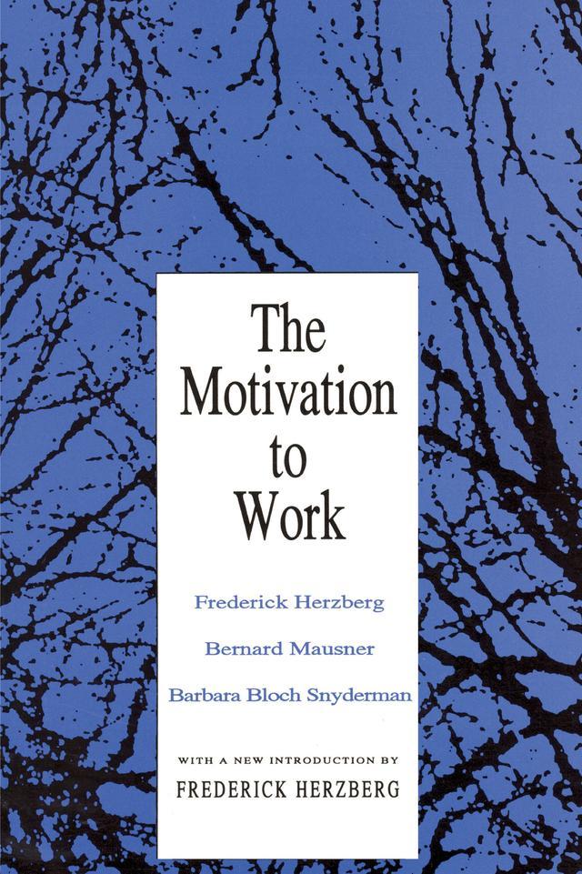 Motivation to Work als eBook Download von Frede...