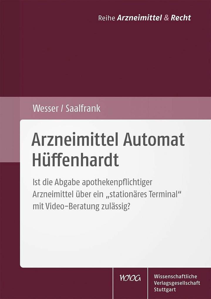 Arzneimittel Automat Hüffenhardt als eBook Down...
