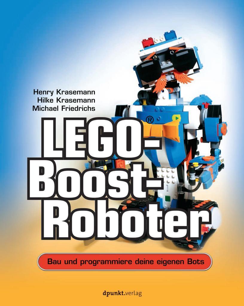 LEGO®-Boost-Roboter als Buch