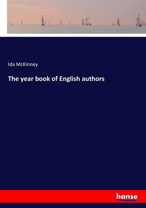 The year book of English authors als Buch von I...