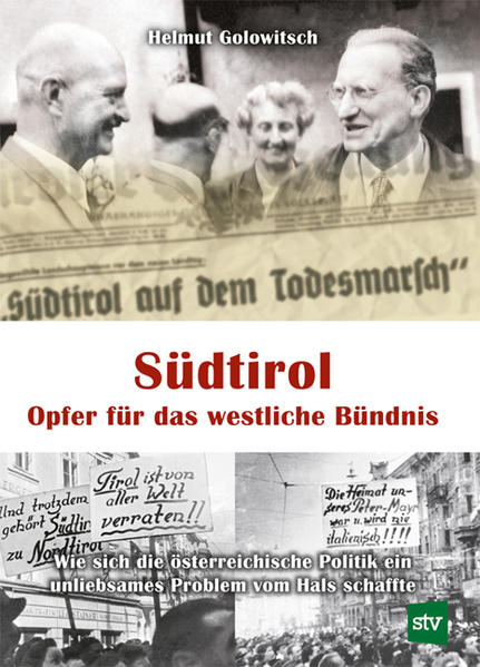 Südtirol - Opfer für das westliche Bündnis als Buch