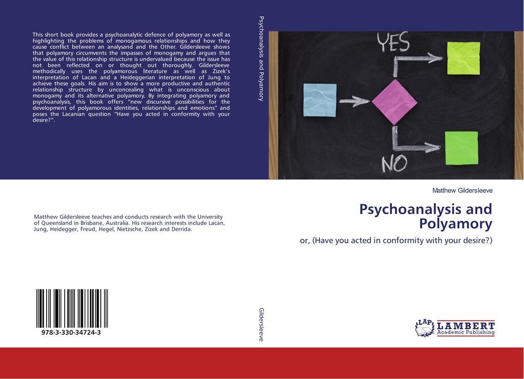 Psychoanalysis and Polyamory als Buch von Matth...