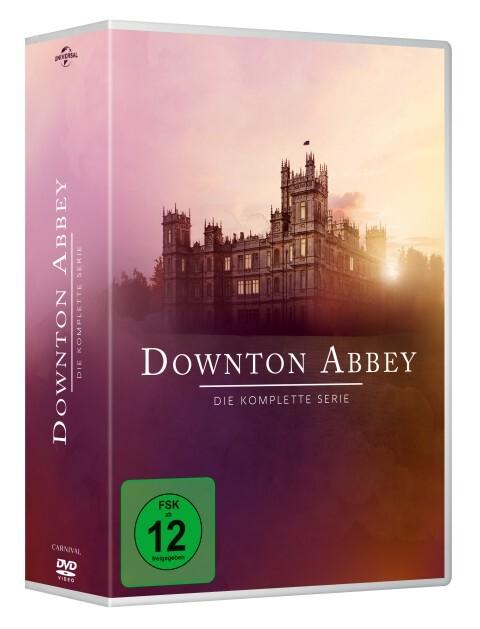 Downton Abbey - Die komplette Serie als DVD