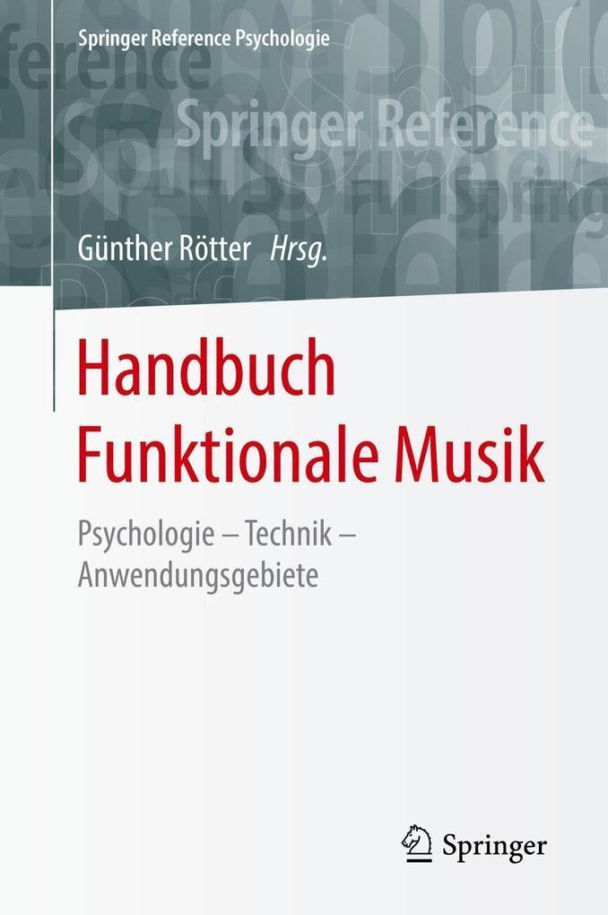 Handbuch Funktionale Musik als eBook