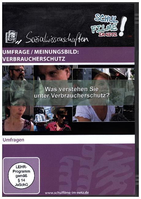 Umfrage / Meinungsbild: Verbraucherschutz, 1 DVD