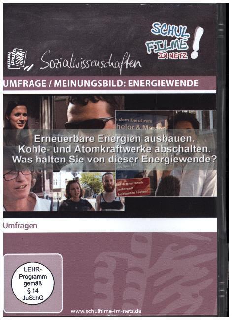 Umfrage / Meinungsbild: Energiewende, 1 DVD