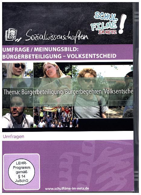 Umfrage / Meinungsbild: Bürgerbeteiligung - Vol...