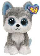 Ty Plüsch - Beanie Boo's Glubschis - Husky Slush 15 cm