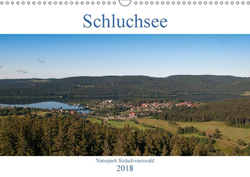 Schluchsee Naturpark Südschwarzwald (Wandkalend...