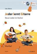 Jeder lernt Gitarre - Neue Lieder im Herbst, m. Audio-CD