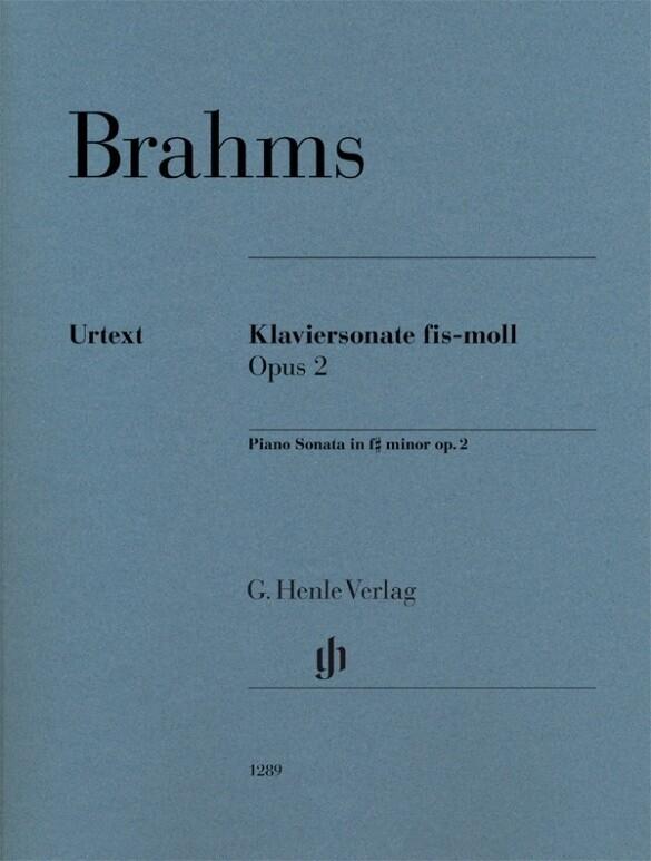Klaviersonate fis-moll op. 2 als Buch von Johan...