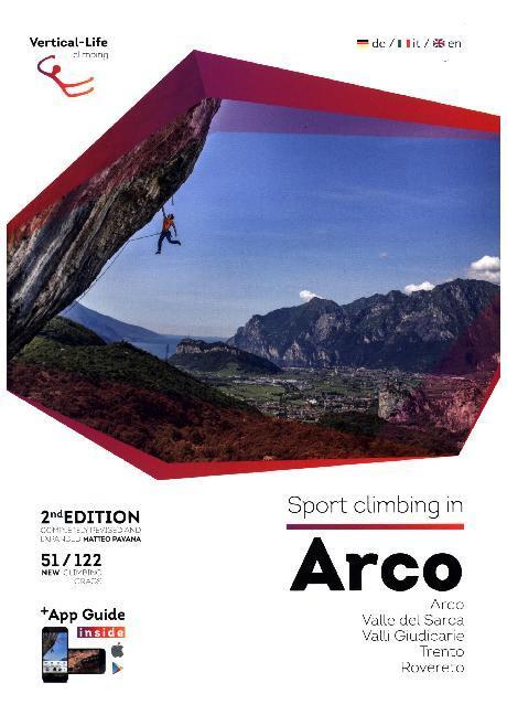 Sport climbing in Arco als Buch von Matteo Pavana