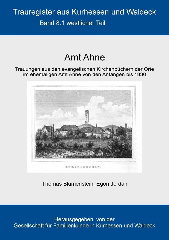 Amt Ahne als eBook Download von Thomas Blumenst...