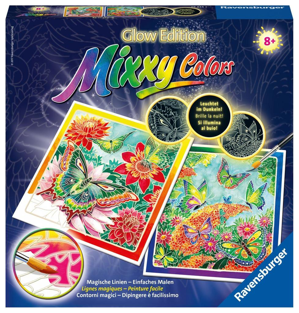 Schmetterlingsparadies Mixxy Colors Glow Edition als sonstige Artikel