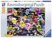 Gelini beim Puzzlen. Puzzle 500 Teile
