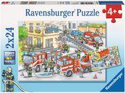 Ravensburger Puzzle - Helden im Einsatz, 2x24 Teile