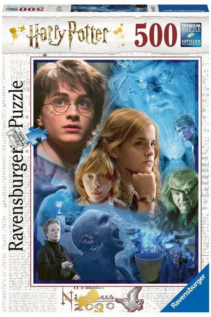 Harry Potter in Hogwarts - Puzzle 500 Teile als Spielware