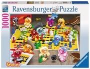 Ravensburger Spiel - Gelini - Spieleabend bei den Gelinis, 1000 Teile