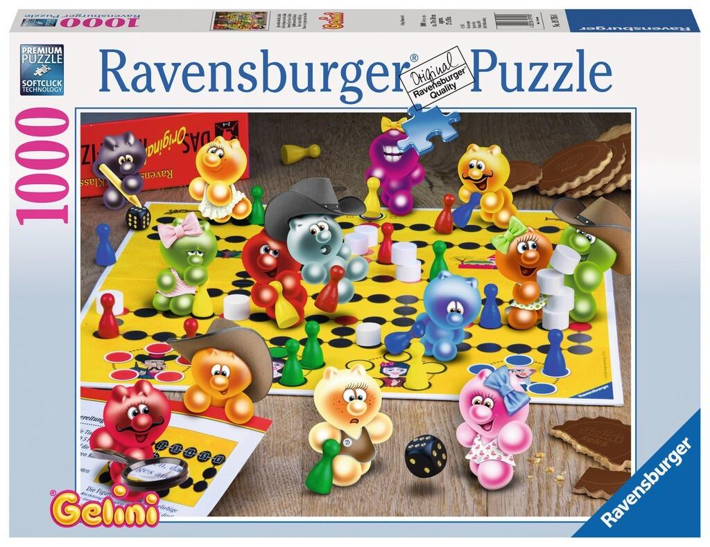 Spieleabend bei den Gelini. Puzzle 1000 Teile