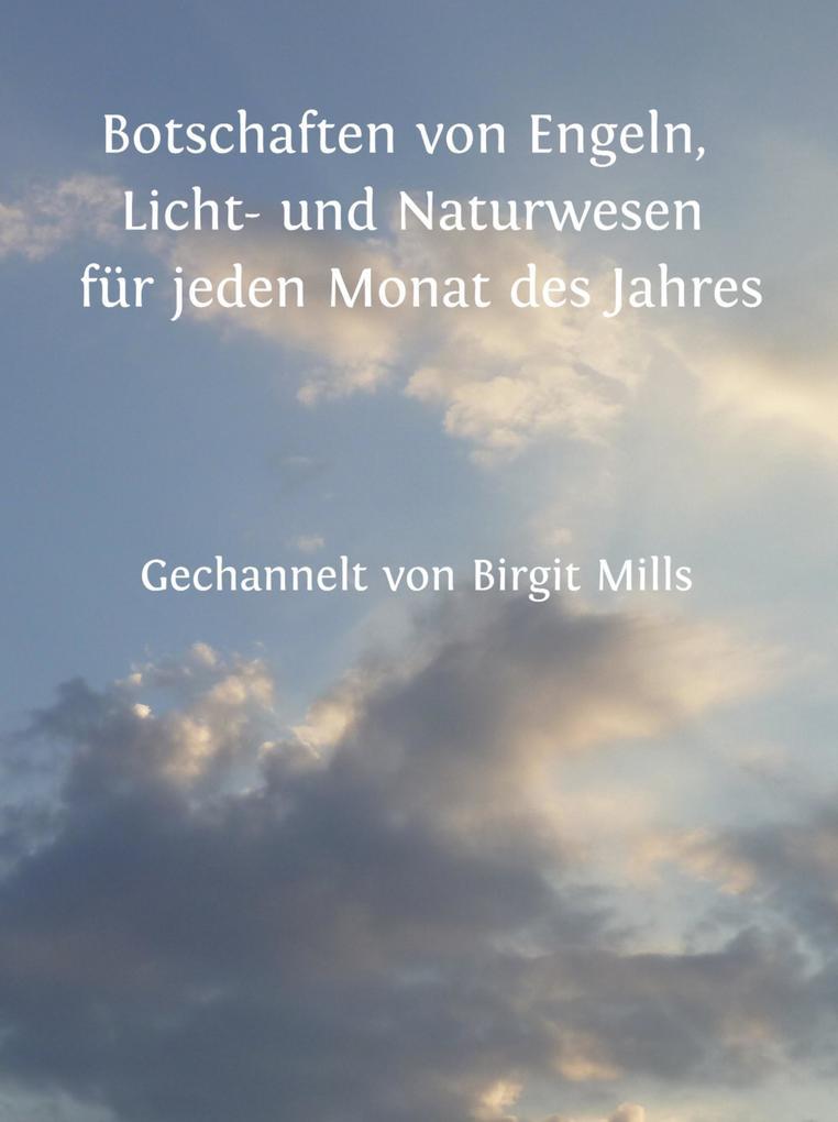 Botschaften von Engeln, Licht- und Naturwesen für jeden Monat des Jahres als eBook epub