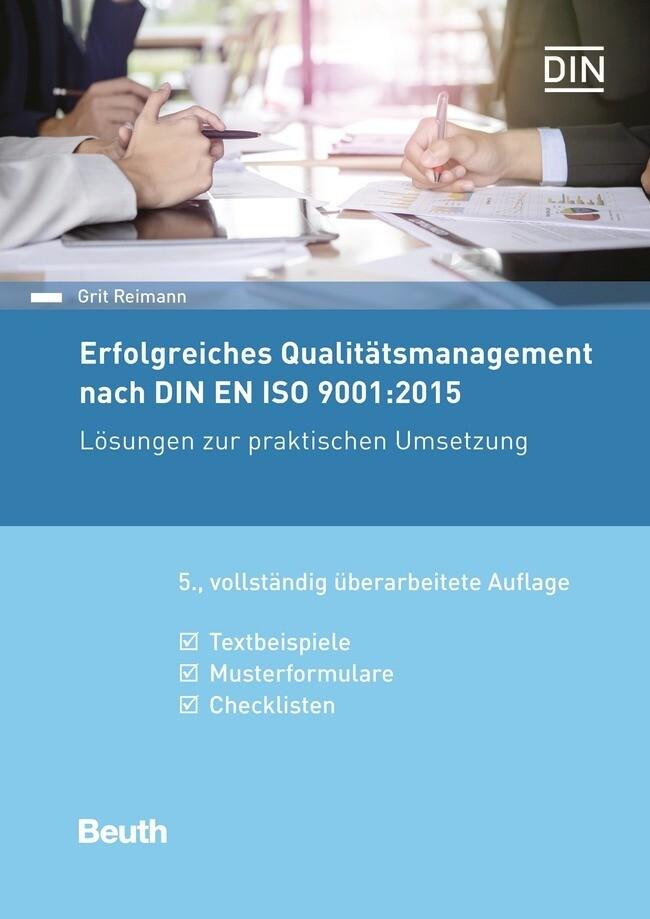 Erfolgreiches Qualitätsmanagement nach DIN EN ISO 9001:2015 als Buch