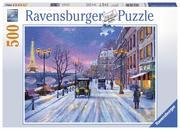 Winter in Paris. Puzzle 500 Teile