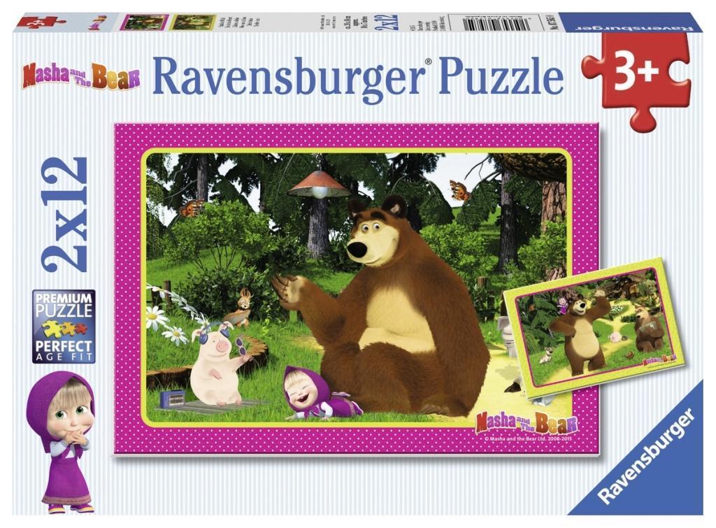 Ravensburger Puzzle - Mascha und der Bär - Spaß...