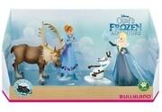Bullyland 12936 - Disney, Frozen, Die Eiskönigin, Olaf taut auf, Olaf taut auf Geschenk, Box 4 Stück
