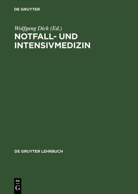 Notfall- und Intensivmedizin als eBook Download...