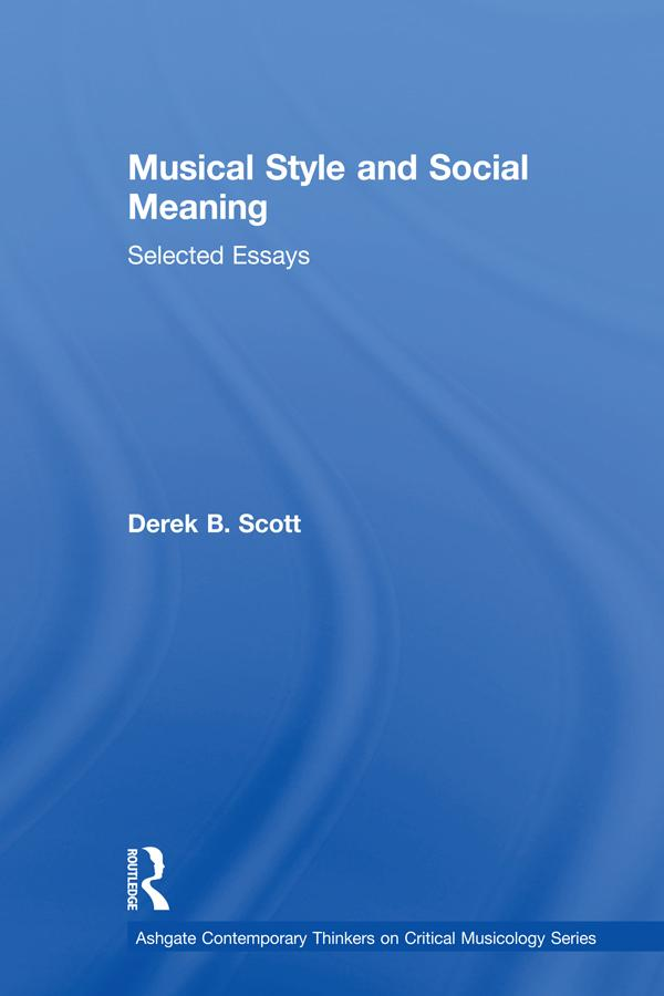 Musical Style and Social Meaning als eBook Down...