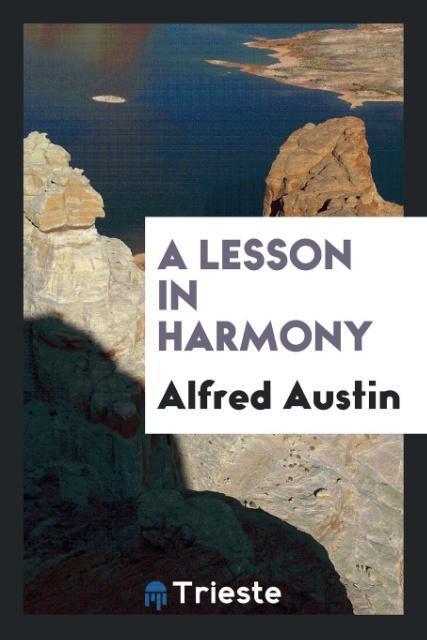A lesson in harmony als Taschenbuch von Alfred ...