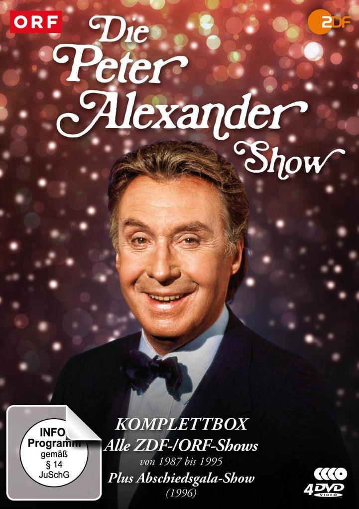 Die Peter Alexander Show - Komplettbox (Alle ZDF-Shows von 1987-1995 plus Abschiedsgala) als DVD