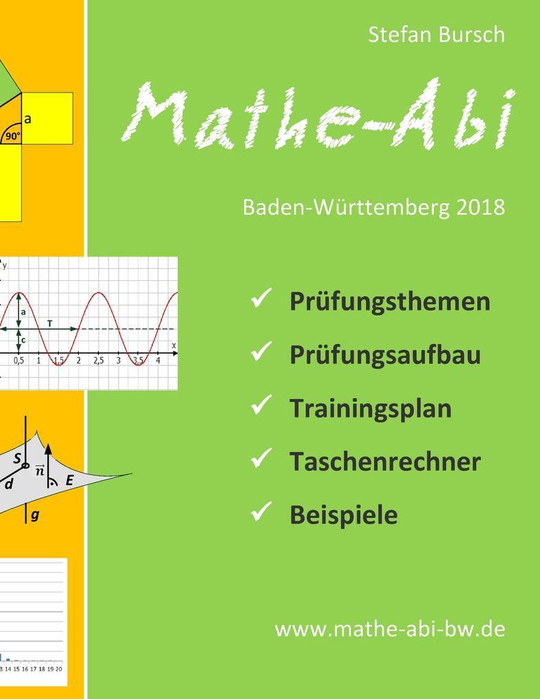 Mathe-Abi Baden-Württemberg 2018 als Buch von S...
